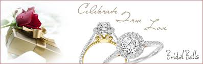 wedding bells rings images Michael and sons jewelry twogether diamond engagement rings jpg