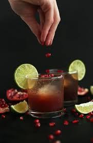 sparkling pomegranate margaritas minimalist baker recipes