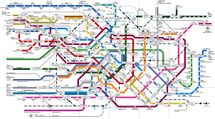 Metro Map Nyc A Tour Of Japanese Pop Culture Part 8 Traveling On Tokyo U0027s