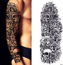 tribal tattoo sleeve ebay