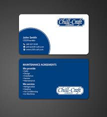Credit Card Business Cards Designs Modern Professional Business Card Design For Chill Craft Company