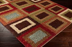 Orange And Brown Area Rug Interesting Design Ideas Red And Brown Rug Marvelous 5 X 7 Medium