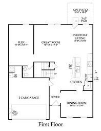 older centex home floor plans