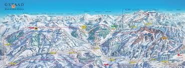 Alps On A Map Gstaad Saanen Rougemont Ski Resort Guide Lagenkarte Gstaad