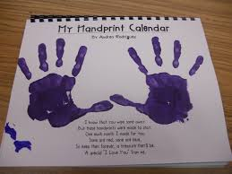 yearly handprint calendars with all the downloads you need as an