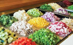 round table salad bar enjoy a custom salad from our menu salata salad bar