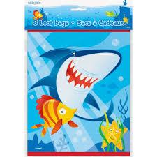 shark birthday invitations ocean shark party supplies walmart com