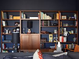 how to turn a cheap ikea bookcase into a luxe built in library