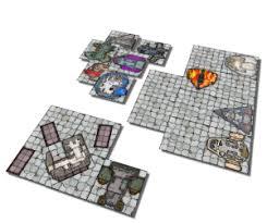compact u0026 worn starship deck plan 6x6 tiles inked adventures