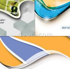 free book cover designs templates colorful three dimensional dynamic science and technology book