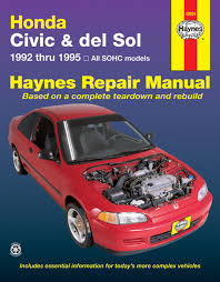 repair manual haynes 42024 fits 92 95 honda civic u2022 18 99 picclick