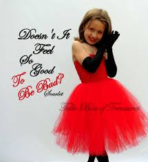 cake halloween costume evil red dress tutu costume without gloves