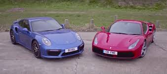 ferrari 488 modified ferrari 488 gtb vs porsche 911 turbo s the battle of the