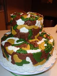 camoflauge cake saving doug s sanity how i made a camouflage cake inside and out