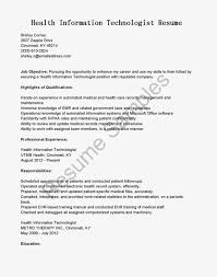 Patient Care Technician Resume Sample by 10 Health Information Technician Resume Samples Vinodomia