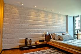 Padded Wall Headboard Elegance And Sophistication In The Interior With Padded Wall Panels