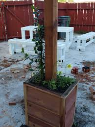 Pergola Post Base by Pretty Patio And Pergola Plus Picnic Table Just About Home