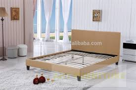 stylish european floating timber bed frame european bed frame