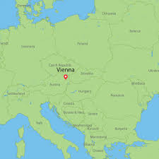 Map Of Switzerland And Germany by Where Is Vienna Austria Map Climate Zone And Nearest Cities