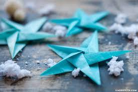 tissue origami ornaments lia griffith