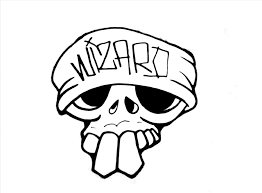 n cool easy skull designs to draw pencil and in color click here