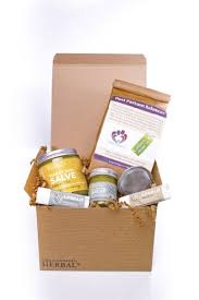 Postpartum Gift Basket New Mama Natural Gift Box For A New Mother With Organic Postpartum