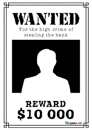 29 free wanted poster templates fbi and old west