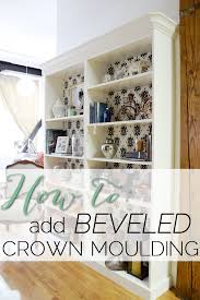 white bookcase with crown molding bobsrugby com