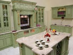 Green Country Kitchen Kitchen Country Kitchen Cabinets Green Color Country Kitchen