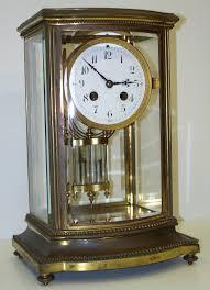 Crystal Mantel Clocks Clockfolk Of New England Antique Clocks