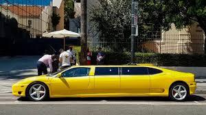 limousine lamborghini i found a 400 000 ferrari limo youtube