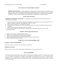 Resume Samples General Laborer by Sample Resume General Maintenance Worker Templates