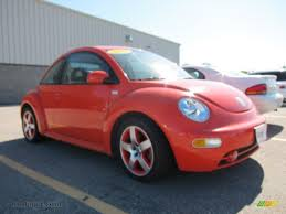 orange volkswagen beetle 2002 volkswagen new beetle special edition snap orange color