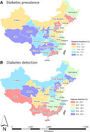 Map Of China Provinces by Geographical Variation In Diabetes Prevalence And Detection In