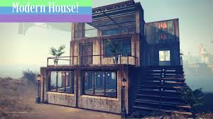 industrial house modern industrial house build fallout 4 ps4 youtube