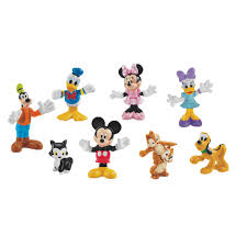 Mickey Mouse Table And Chairs by Mickey Mouse Clubhouse 8 Pc Crew Buildup Figures By Fisher Price