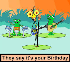 card design ideas grasshopper band frog holding guitar bass drum