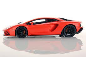 Lamborghini Aventador Orange - lamborghini aventador s 1 18 mr collection models