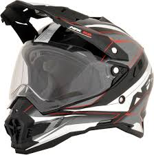 afx motocross helmet afx fx41ds eiger dual sport adventure motorcycle helmet red black