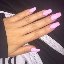 Light Pink Acrylic Nails Light Pink Matte Acrylic Nails Google Search Nails Pinterest