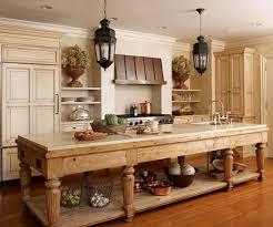 kitchen enchanting vintage wooden kitchen island metal kitchen