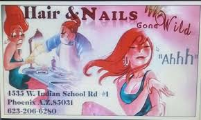 hair u0026 nails gone wild phoenix az nail salon fivestars