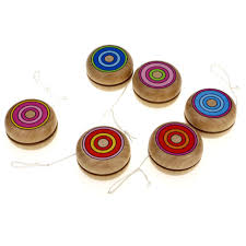 wooden party favors wooden yoyo kids classic toys gifts party favors kindergarten