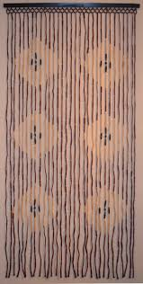 Amazon Beaded Curtains Amazon Com Natural Bamboo U0026 Wood Beaded Curtain Diamond Pattern