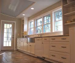Brookwood Kitchen Cabinets by Gorgeous Stainless Steel Farmhouse Sink In Kitchen Eclectic With