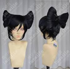 Geisha Hairstyles Costume Wig Black Short Straight Geisha Cos Wig Women U0027s Wig