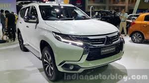 mitsubishi pajero 2016 white mitsubishi pajero sport front three quarters at 2015 thai motor