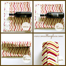wine bottle gift wrap no sew wine bottle gift wrap on sutton place