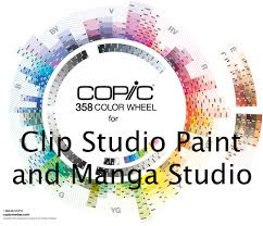 358 copic color set for clip studio paint by kayleefuzzyhat on