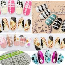 houndstooth nail stickers online houndstooth nail stickers for sale